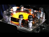 See Through Engine - 4K Slow Motion Visible Combustion