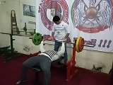 Break your limits ! Ateks Motivator  Bench press 100 kgs x 17 reps  24.12.2016