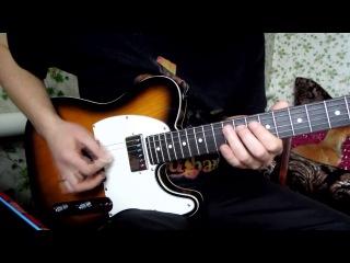 Funk Fusion Guitar Lick for A7