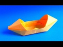 How to make a paper boat that floats Origami boat - canoe