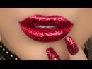 RED GLITTER LIPS | Amys Makeup Box