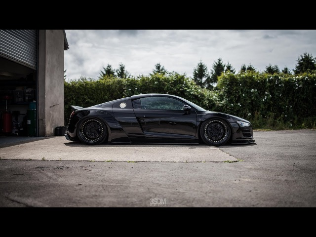 Liberty Walk Audi R8 V10 | 3SDM Alloy Wheels