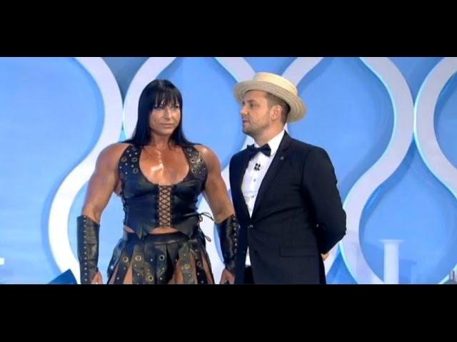 Irene Andersen (Too big for the world) in Romanian tv