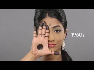 Эволюция красоты в Индии за 100 лет  100 साल के लिए भारत में सौंदर्य का  ...