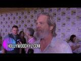 Jeff Bridges &amp Colin Firth Comicon 2017 interview Kingsman The Golden Cirlce