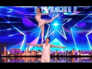 Gao Lin Liu Xin STUNS Everyone With Their Acrobatics Week 2 Britain's Got Talent 2017