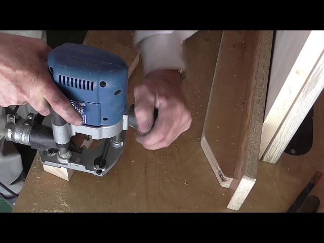 Как сделать галтельную пазовую фрезу для ручного фрезера своими руками.