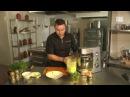 Блюдо дня Суп пюре из зелёного горошка с мятой