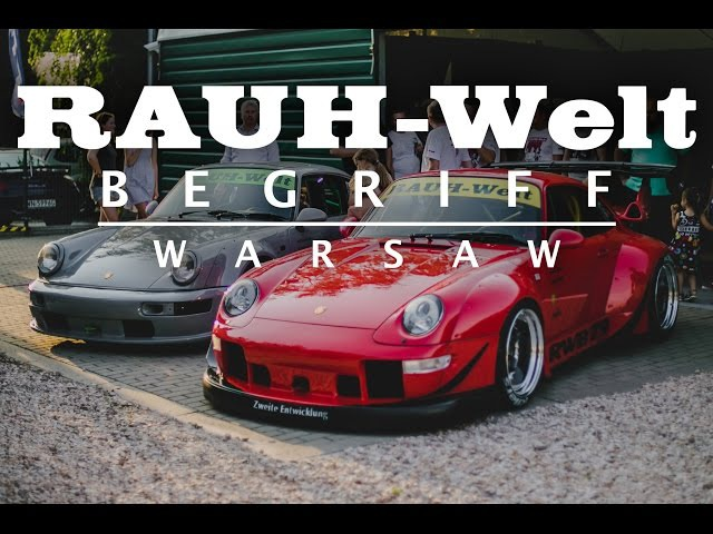 RWB WARSAW 1 | RAUH-Welt Begriff | Akira Nakai Builds Two Porsches 911 in Poland | 993 964