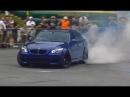 BMW M5 E60 in Action - REVS, Drifts Burnouts! Brutal Eisenmann Sound!