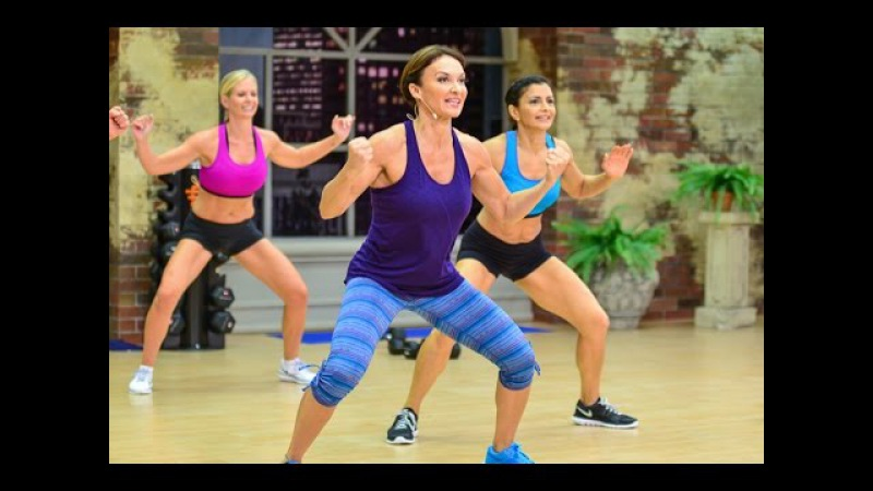Cathe Friedrich's HiiT Upper Body Circuit Workout
