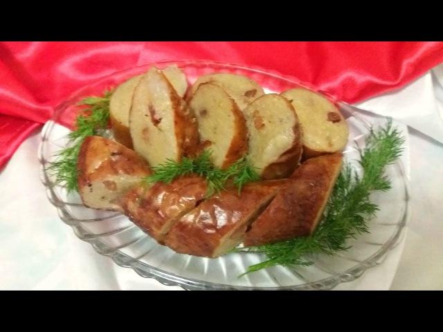 Домашняя картофельная Колбаса. Готовимся к праздникам