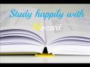 Música de Mozart para estudiar o trabajar: relaja, concentra y alegra para un mejor aprendizaje.