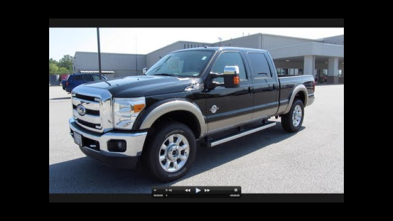 2011 Ford F-250 Lariat Super Duty Powerstroke Start Up, Exhaust, and In Depth Tour