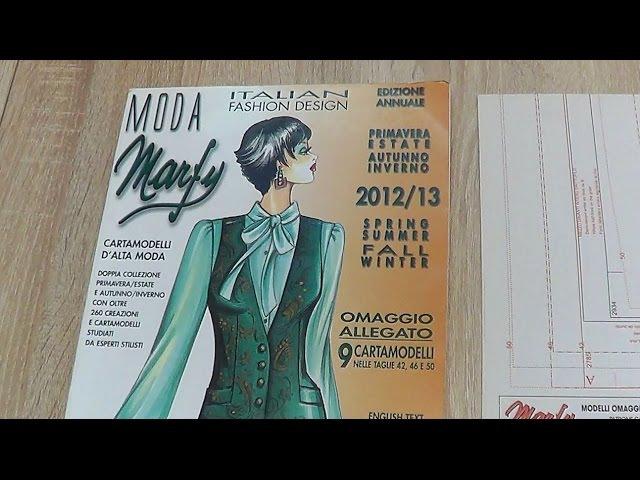 Обзор журнала Marfy. 2012/13 год
