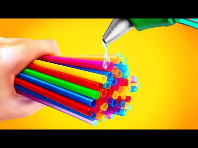 NEW WAYS TO USE EVERYDAY ITEMS TUBULES FOR COCKTAIL LIFE HACK 2017