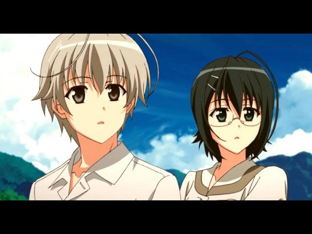 AMV - Одиночество на двоих / Yosuga no Sora (А помнишь вечер...)
