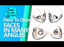 HOW TO DRAW HEADS FROM A TOP ANGLE