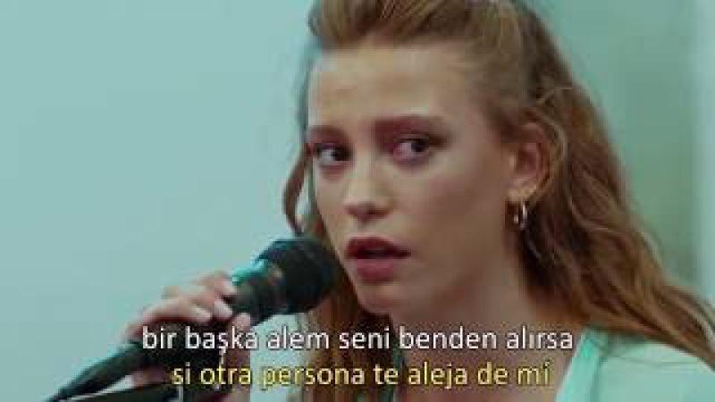 Medcezir 40.bölüm   Beni Benimle Bırak Giderken   letra sub español
