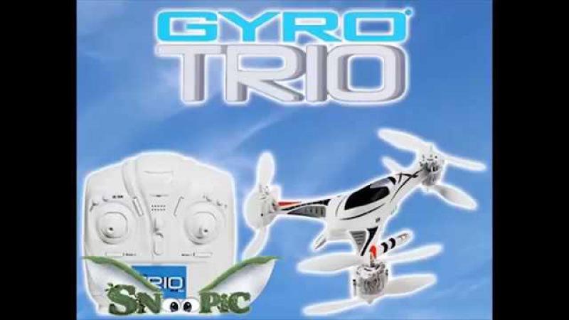 Трикоптер GYRO-Trio 2.4GHz 4 канала (автомат. взлет и посадка) 1toy