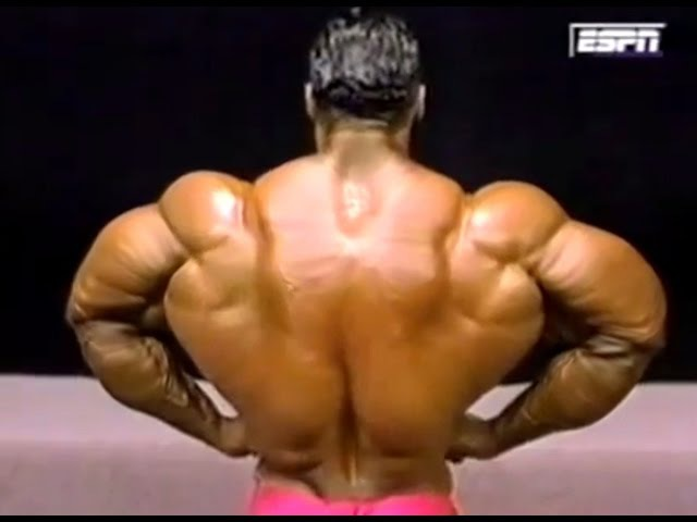 Kevin Levrone Posing 95' Best Shape of his Life