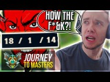 MOST TILTING GAME I'VE EVER HAD..! HOW THE F&ampK - Journey To Masters  League of Legends