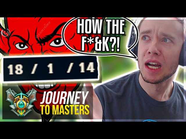MOST TILTING GAME I'VE EVER HAD..?! HOW THE F*K?? - Journey To Masters | League of Legends