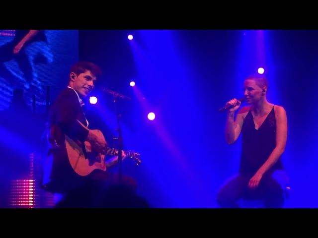 ♫ Lilian Renaud Anne-Sila - « Je t'aimais, je t'aime, je t'aimerai » - Dijon The Voice Tour