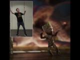 Стражи Галактики: Часть 2 | Танец малыша Грута