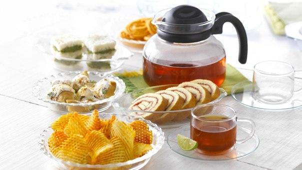 пирожные лимоны чай  № 3678243 бесплатно