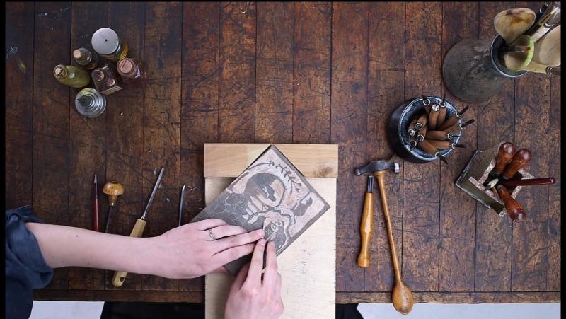 Gauguins_Process_ Making_Wood-Block_Prints