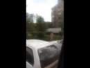 Голышом по тротуару в Бийске дядечка бежит 24.05.17