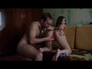 Парочка резвится, инцест, 18+, русское порно, секс, анал, частное, домашнее