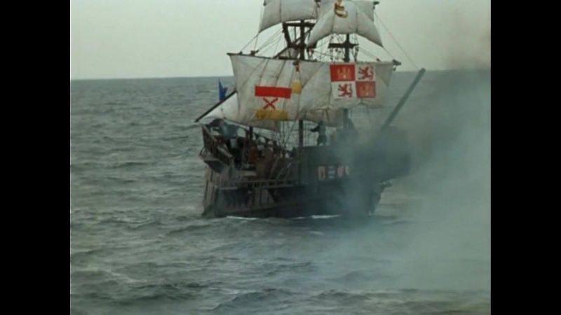 Легенда о Тиле (1976). Морской бой между гёзами и испанцами