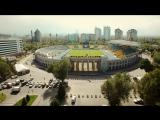 С птичьего полёта. Стадион ФК Кайрат. Центральный стадион г.Алматы. Airview