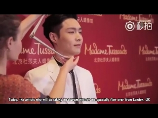 VIDEO 170828 Lay @ Madame Tussauds Weibo  Beijing  Update ENG SUB