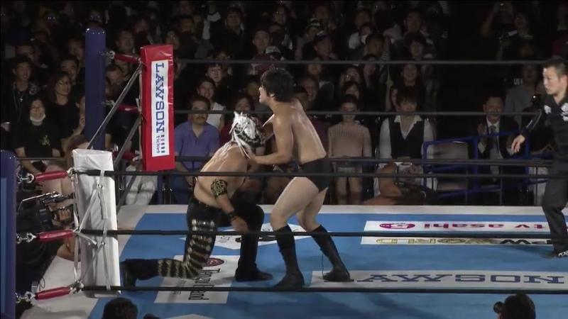 Minoru Suzuki, Taichi, El Desperado vs. Juice Robinson, David Finlay, Hirai Kawato (NJPW - G1 CLIMAX 27 - Day 5)