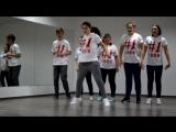 #1Crew jam in Dance Studio 8BEAT