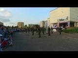 Показательные выступления по рукопашному бою 681 РУЦ на день посёлка Новосмолинский 26 августа 2017