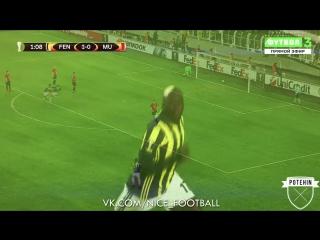 Красивый гол Мусса Соу через себя | Potehin | vk.com/nice_football