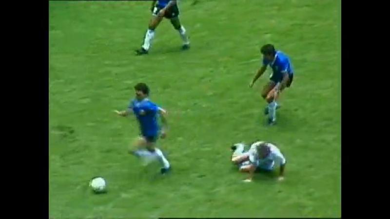 Чемпионат мира 1986 года. 1/4 финала. Аргентина - Англия