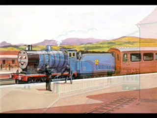 Железнодорожные истории, Голубой паровоз Эдвард, Спасённый трактор