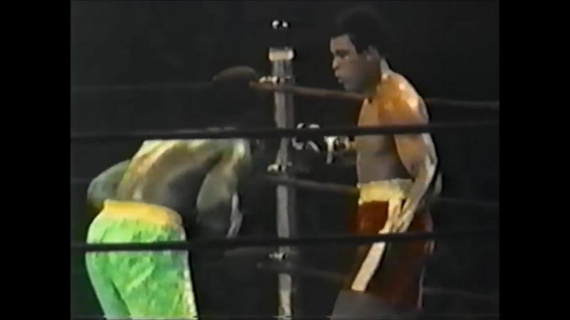 Легендарные бои — Али - Фрейзер (1971) - FightSpace