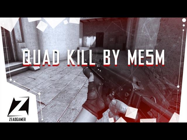 QUAD KILL by Mama Esho 5 Minut | cs_office [CS:GO]