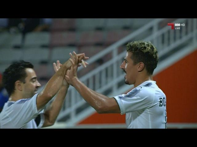 09.09.2017. QatarSuperCup2017 Аль-Духаил 2 - 4 Аль-Садд. Хави два ассиста