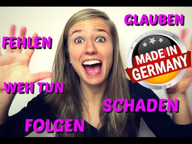 THE DATIVE part 6: The 30 MOST IMPORTANT Dative Verbs in GERMAN: folgen, schaden, weh tun etc