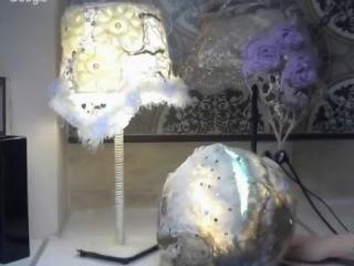 Валяние из шерсти ✿ Абажур на 3D шаблоне ✿ Felted lampshade