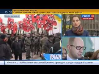 УКРАИНА. Яценюка ждут в Раде с наручниками