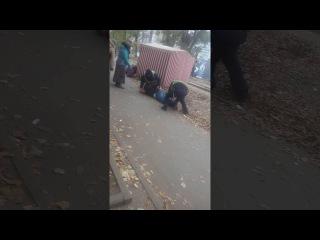 ЭКШЕН на Салтовском Шоссе. Полиция задерживает Алкаша. Харьков