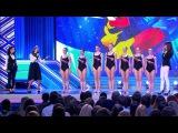 КВН: Приоритет ДГТУ - Женская сборная России по синхронному плаванью (КиВиН, Сочи, 2015)